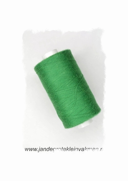 Rijggaren, kleur groen, klos van 300 mtr.