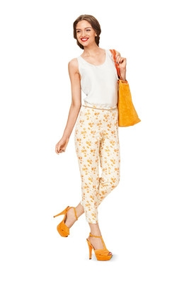Burda naaipatroon, pantalon, maat 36-48