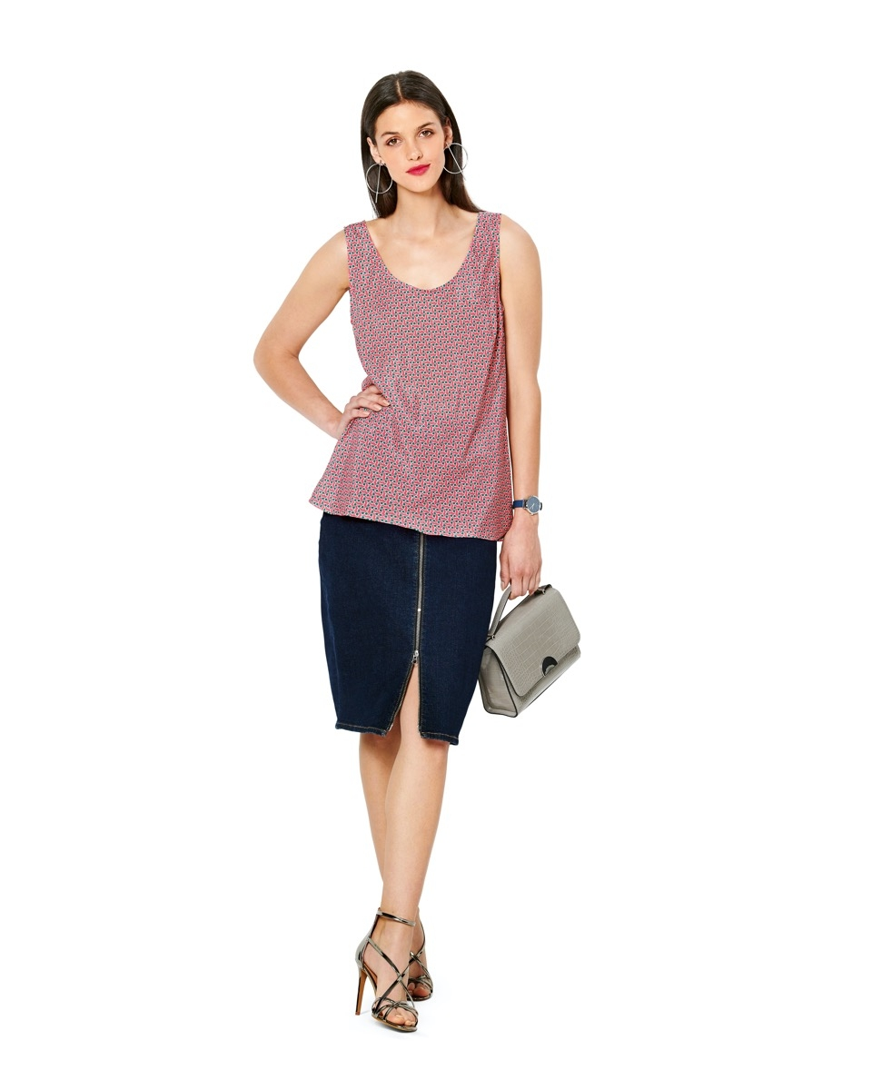Burda naaipatroon, shirt, maat 34-44