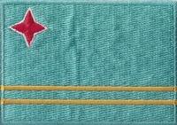 Aruba, applicatie opstrijkbaar, 83mm x 58mm