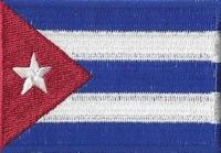 Cuba, applicatie opstrijkbaar , 83mm x 58mm