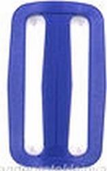 Gesp, kunststof, blauw, 50mm