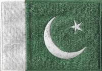 Pakistan, applicatie opstrijkbaar, 83mm x 58mm