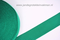 Koppelband, donkergroen, 40mm, prijs per meter