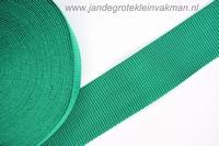 Koppelband, donkergroen, 50mm, prijs per meter