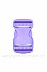 Insteekgesp, kunststof, lila, 30mm