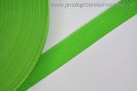 Koppelband, groen, 30mm, prijs per meter