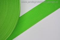 Koppelband, groen, 50mm, prijs per meter