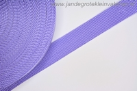 Koppelband, lila, 30mm, prijs per meter