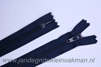 Rokrits, 25cm, kleur 058, marineblauw