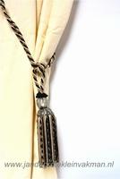 Embrasse (gordijnkwast) voor middelzware gordijnen