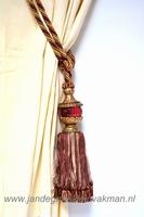 Embrasse (gordijnkwast) voor zware gordijnen