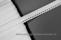 Lingerie elastiek, 12mm breed, per meter