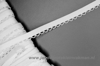 Lingerie elastiek, 10mm breed, per meter