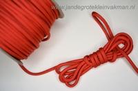 Paracord (parakoord) rood, 4mm dik, per meter
