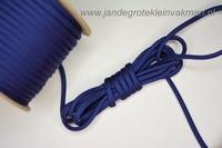 Paracord (parakoord) donkerblauw, 4mm dik, per meter