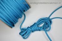 Paracord (parakoord) lichtblauw, 4mm dik, per meter