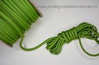 Paracord (parakoord) groen, 4mm dik, per meter