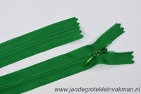 Blinde rits, 22cm, kleur 876, groen