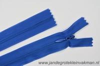 Blinde rits, 60cm, kleur 918, blauw