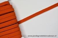 Kledingelastiek, 5mm breed, oranje, per meter