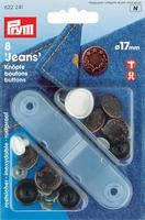 Prym Jeansknopen, 17mm, bronskleurig, 8 stuks