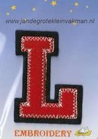 Dubbele letterapplicatie, letter L