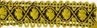 meubelband, 8mm breed, viscosemenging, per meter