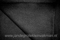 Boordstof, effen zwart, rondgeweven, 40cm hoog, Ø 38cm
