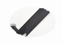 Biasband, satijn, 20mm breed, zwart, per meter