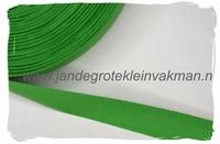 keperband, 20mm, groen, per meter
