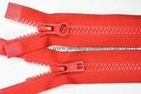 Dubbel deelb, bloktand, nylon, 60cm, kleur 519, rood