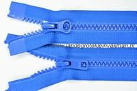 Dubbel deelb, bloktand, nylon, 75cm, kleur 918, blauw