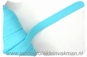 Veterband, synthetisch, 12mm breed, per meter, turquoise