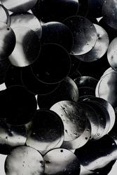 Kunststof pailletten, 28mm, ca. 88 stuks