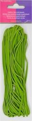 Veterkoord, imitatieleer breedte 3mm lengte 5mtr, groen