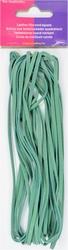 Veterkoord, imitatieleer breedte 3mm lengte 5mtr, turquoise