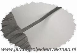 Veterkoord, suede,  breedte 4mm, grijs, per meter