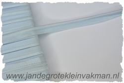 Pipingband, elastisch, 5mm breed, babyblauw, per meter