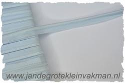 Pipingband, elastisch, 5mm breed, babyblauw, per meter