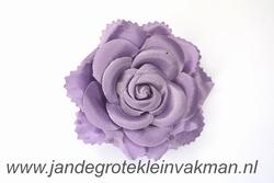 Bloemcorsage, bijzonder natuurgetrouw, paars