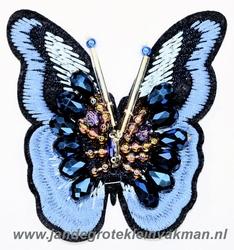Fraaie vlinder applicatie, 85mmx80mm