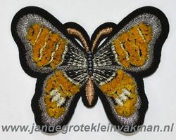 Fraaie vlinder applicatie, 67mm x 55mm