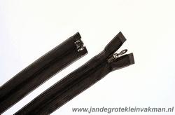 Blinde rits deelbaar, 80 cm, kleur 570, bruin