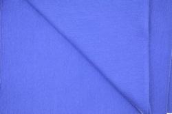 Boordstof, effen blauw, rondgeweven, 40cm hoog, Ø 38cm