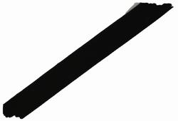 Fluweelband, 23mm breed, zwart