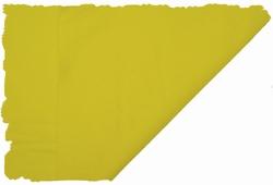 Hobbyvilt, lapje van 30cm x 20cm, kleur lichtgeel