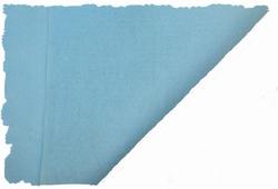 Hobbyvilt, lapje van 30cm x 20cm, kleur lichtblauw