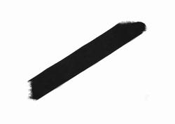 Suedineband, 30mm breed, kleur zwart, prijs per meter