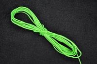 Rijgkoord per 3 meter, 0,8mm, groen fluoriscerend